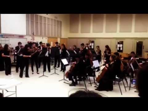 Carmel High School Camerata Ensemble ISSMA 2013
