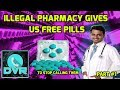 Illegal Pharmacy Gives Us Free Pills - To Stop Call Flooding