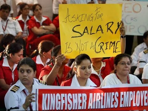 Kingfisher Airlines Employees To Move SC To Recover Salary Dues