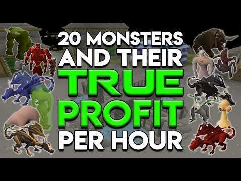 OSRS Countdown - 20 Monsters that Might Make You Bank