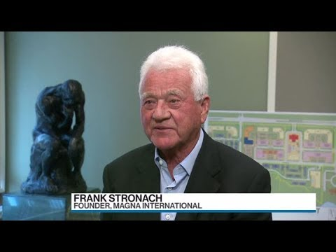 Magna founder Frank Stronach: Only so much oil, we'll need new sources of fuel for cars