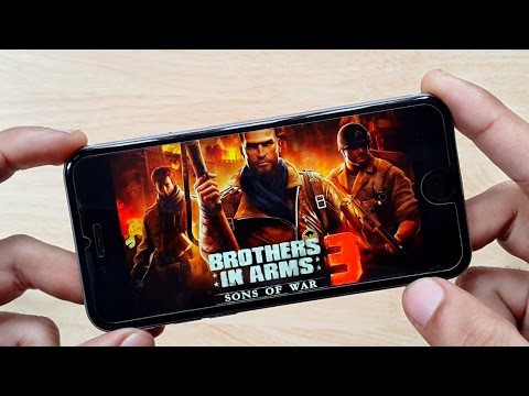 Brothers in Arms 3: Sons of War iPhone 6 Gameplay HD