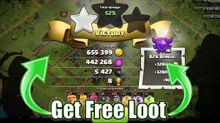 Get Free Loot 😋 Clash of clans Live 😍