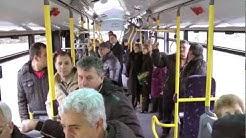Новите автобуси на Бургас - 18. 02. 2013