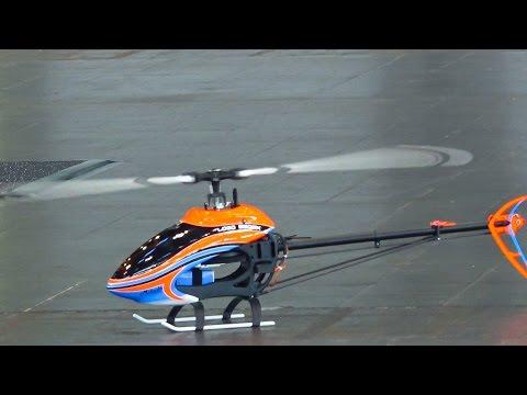 MIKADO LOGO 550SX 3D INDOOR FLIGHT SVEN DRIESSEN / Fair Leipzig Germany 2016