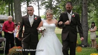 One bride plus two dads equals heartwarming moment