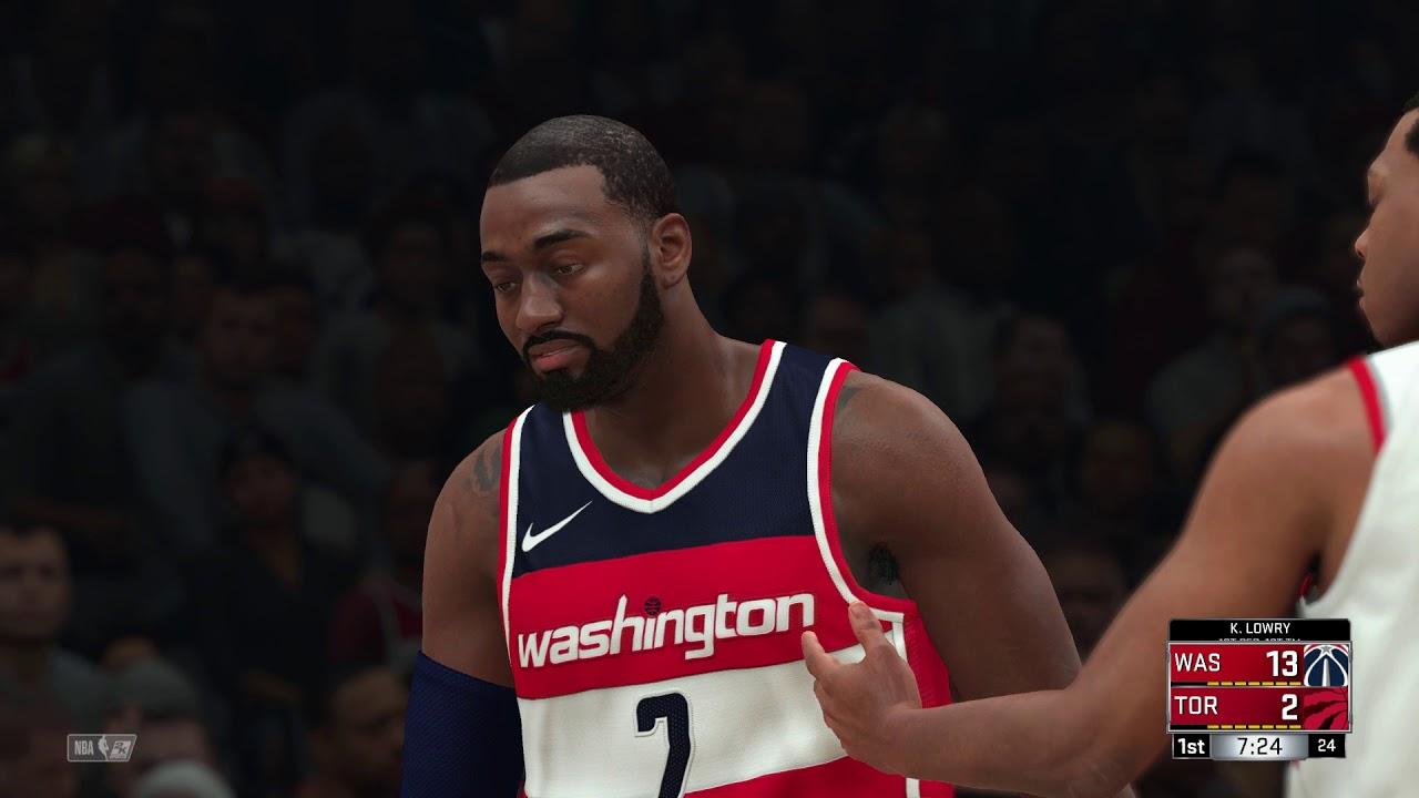NBA 2K18 Washington Wizards vs Toronto Raptors - YouTube c4efb3414