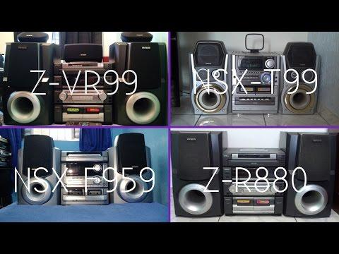 Aiwa NSX-T99, NSX-F959, Z-R880 & Z-VR99 Juntos no Vol. 30!