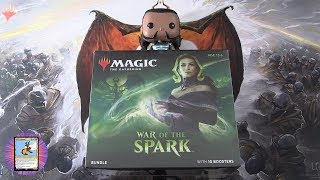 War of the Spark Bundle Unboxed - MYTHICS!