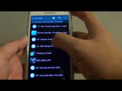 Samsung Galaxy S5: How to Set MP3 Song as Notification Ringtone for SMS Text Message App