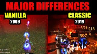 TOP 7 Major Differences Between Classic WoW & Vanilla WoW (2019 Vs 2006)