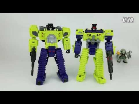 [Review] BULLOOZER Unearth Devastator Transformers Toyworld TW C01 C02