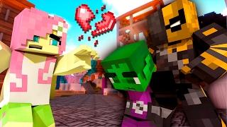 Minecraft LOVE: SLADE KIDNAPS FLUTTERSHY! Beast Boy Rescue MLP #1 (My Little Pony KISS Roleplay)
