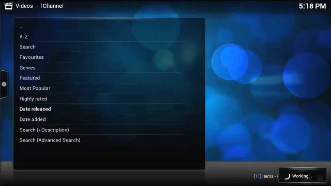 how to watch the science channel on kodi