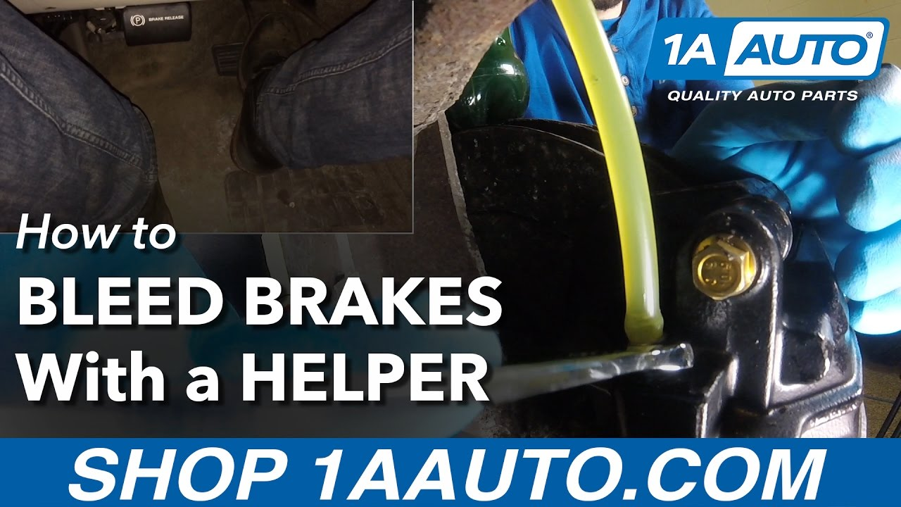 How to Bleed your Brakes with a Helper