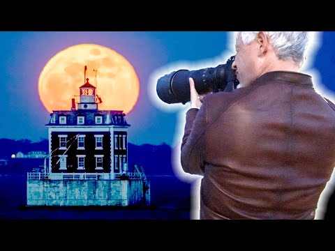 MOON Landscape Photography Tutorial: Camera Settings for DSLR and Mirrorless