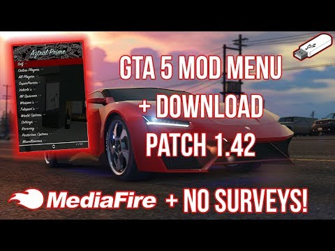 How To Install Mod Menu On GTA 5 Online 1.42 | No Surveys & No Jailbreak! (PS4, XB1, PS3, & XB360)
