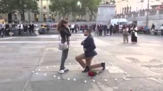 Proposal Trafalgar square London