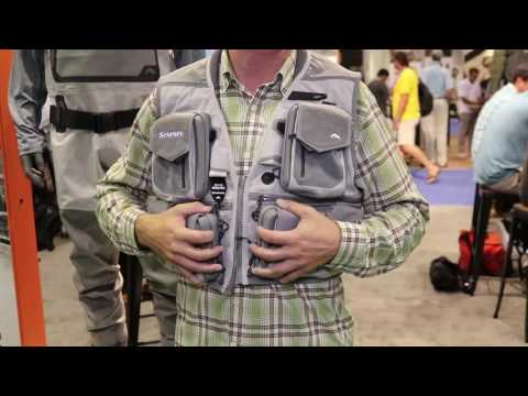 Simms G3 Guide Vest At ICAST 2017
