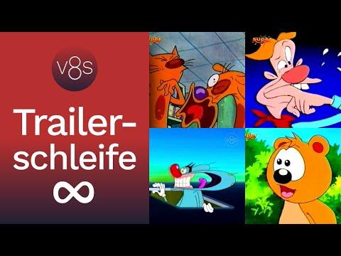 Trailerschleife: Programmausfall bei Super RTL (2001)