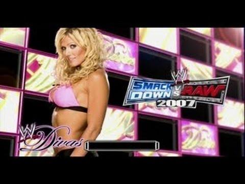 WWE Smackdown Vs Raw - Torrie Wilson Love / Shower Sex Scene