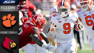 Clemson vs. Louisville Full Game | 2019 ACC Football