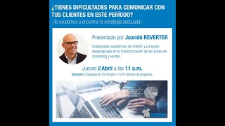 Soprema Webinar - Comunicación con clientes en entornos cambiantes e inciertos