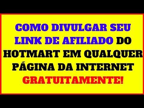 Como Divulgar Seu Link de Afiliado do Hotmart em Qualquer PÁGINA da Internet (2018,2019)