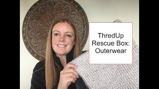 ThredUp Outerwear Rescue Box + Bonus items from a 10 pound Jewelry Box
