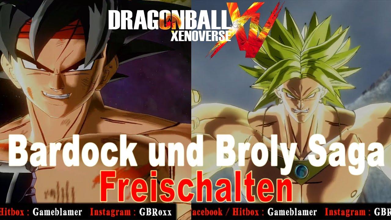 Dragon Ball Xenoverse Bardock Und Broly Saga Freischalten