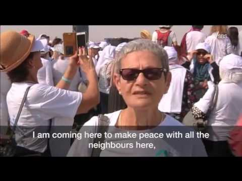 Tens of thousands of Women March for Peace for Israel & Palestine -Women Wage Peace