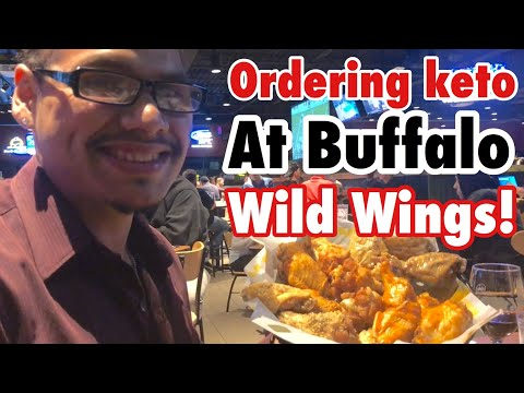 Ordering keto at Buffalo Wild Wings!