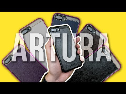 Encased Artura Collection Case for iPhone 7 Plus – Review – Affordable vegan leather case option!