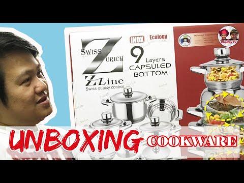 Unboxing Swiss Zurich Z Line - Cookware Set
