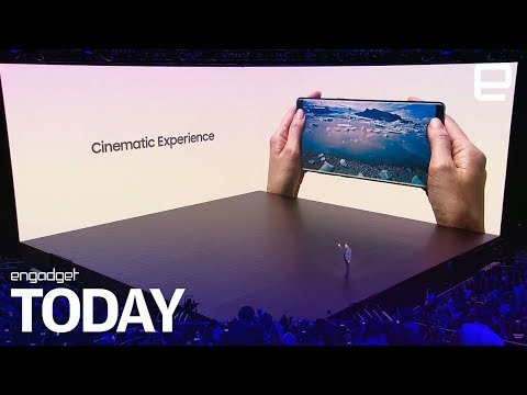 Samsung reveals the Galaxy Note8 | Engadget Today