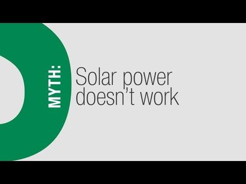 Solar Myths -- It doesn't work!