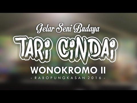 Gelar Pentas Seni Tari Cindai -  Wonokromo II Jogja Rabopungkasan 2016