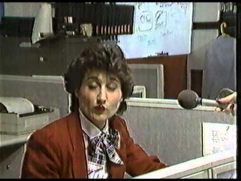 1985 KXLY New Break with Elaine Murphy