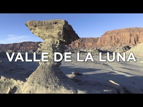 Valle de la Luna - Ischigualasto - San Juan - Argentina - Drone 4K