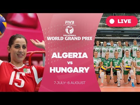 Algeria v Hungary - Group 3: 2017 FIVB Volleyball World Gran