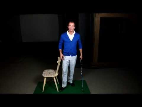 Golftraining zuhause: Drei Übungen für besseren Golfschwung