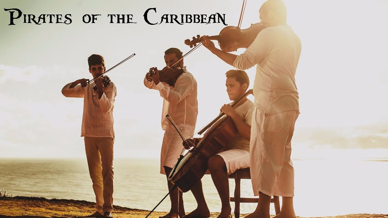 Pirates of the Caribbean Theme (COVER) - The 4 Strings