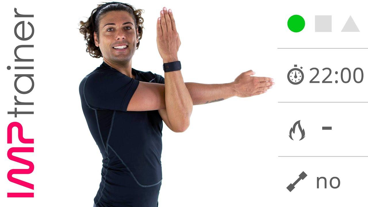 esercizi per raddrizzare schiena e spalle