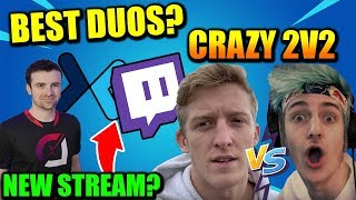 Ninja Vs Tfue Didn't Go Good.. Clix & Khanada BEST Duo?? Twitch SIGNS HUGE Deals!