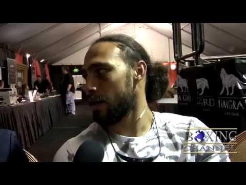 Keith Thurman wanted Amir Khan fight, got Collazo; felt awkward. Recalls Hulk Hogan Tampa connection
