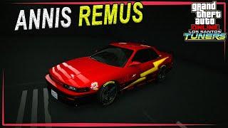 """ANNIS REMUS - обзор бесплатного спорткара из обновления """"Los Santos Tuners"""""""