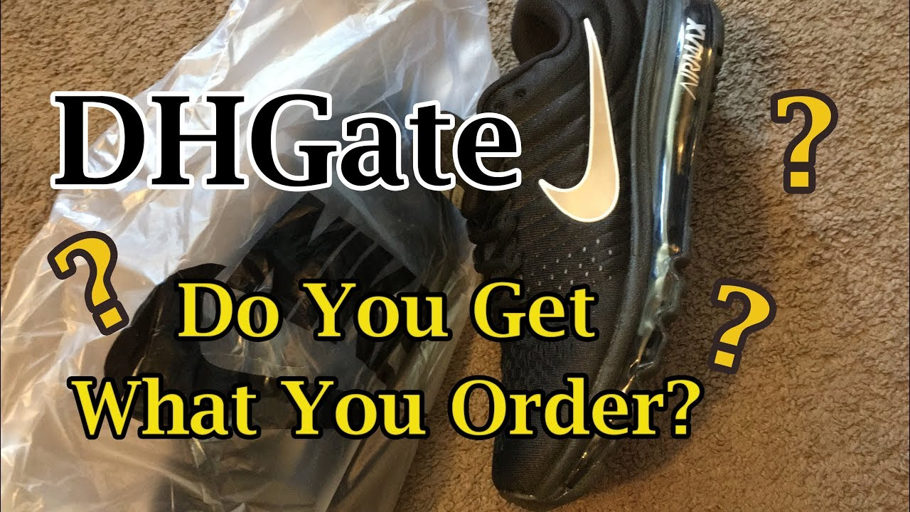 1735fa9c04 DHGate | Can You Trust It? | Nike AirMax 2017 | Unboxing - YouTube