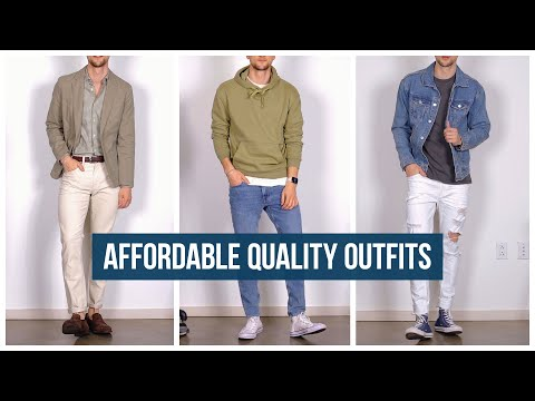 Budget Friendly Quality Outfits | Men's Affordable Fashion Try-On Haul