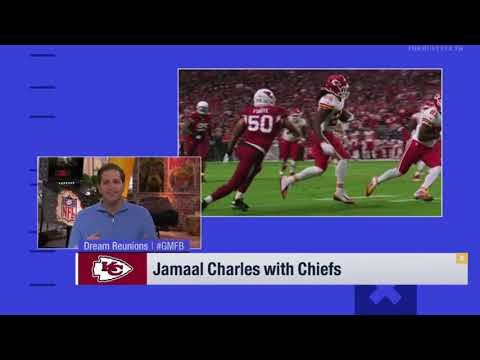 Jamaal Charles With Chiefs   NFL News 2018