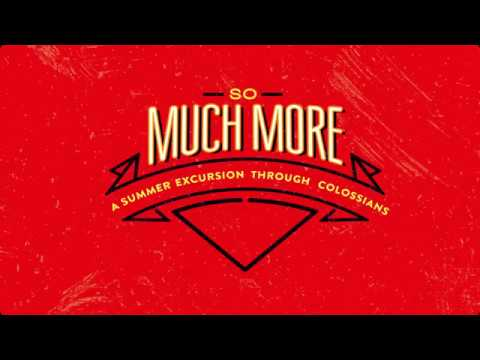 October 23, 2016 - So Much More - Dr. David Uth